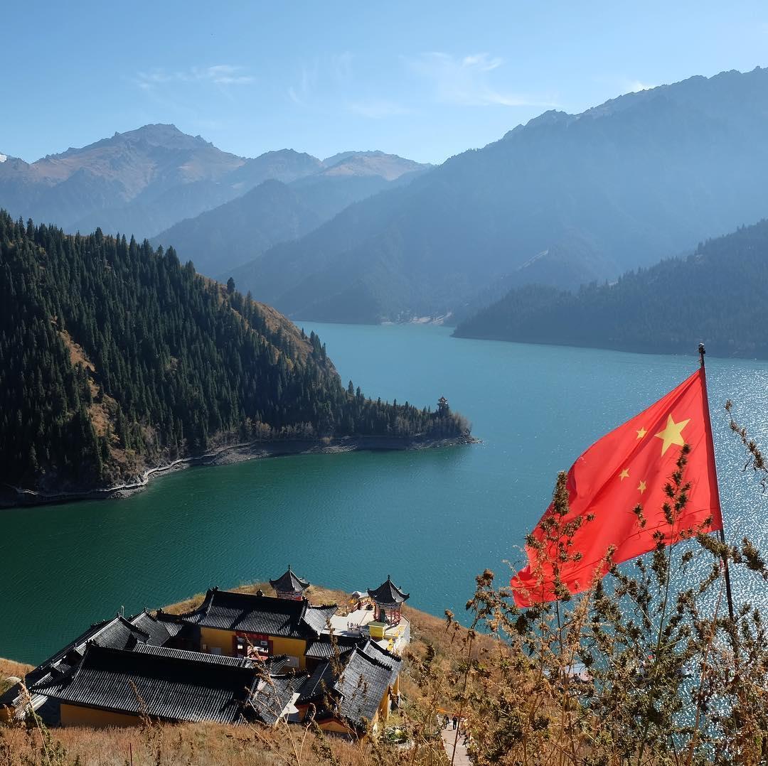 Hồ Heavenly, Urumqi, Tân Cương, Trung Quốc