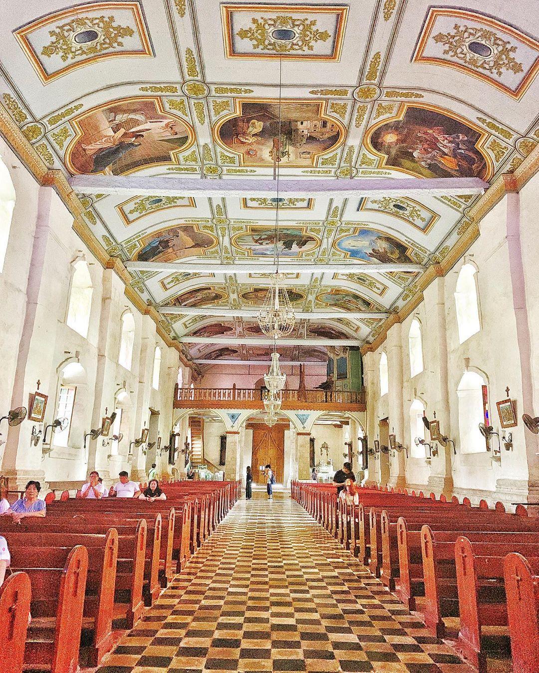 Nhà thờ Baclayon, Bohol, Philippines