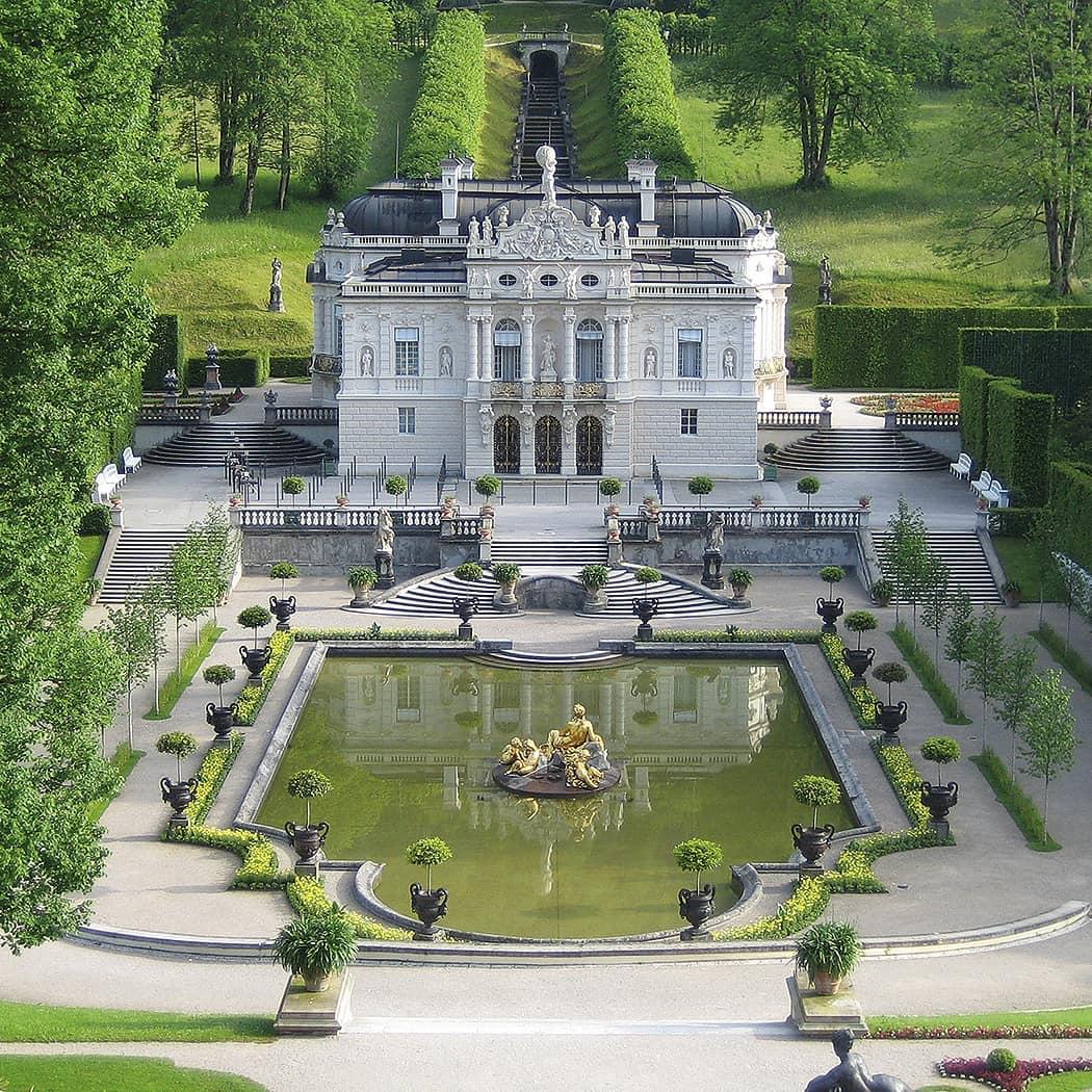 Cung điện Linderhof, Bavaria, Đức