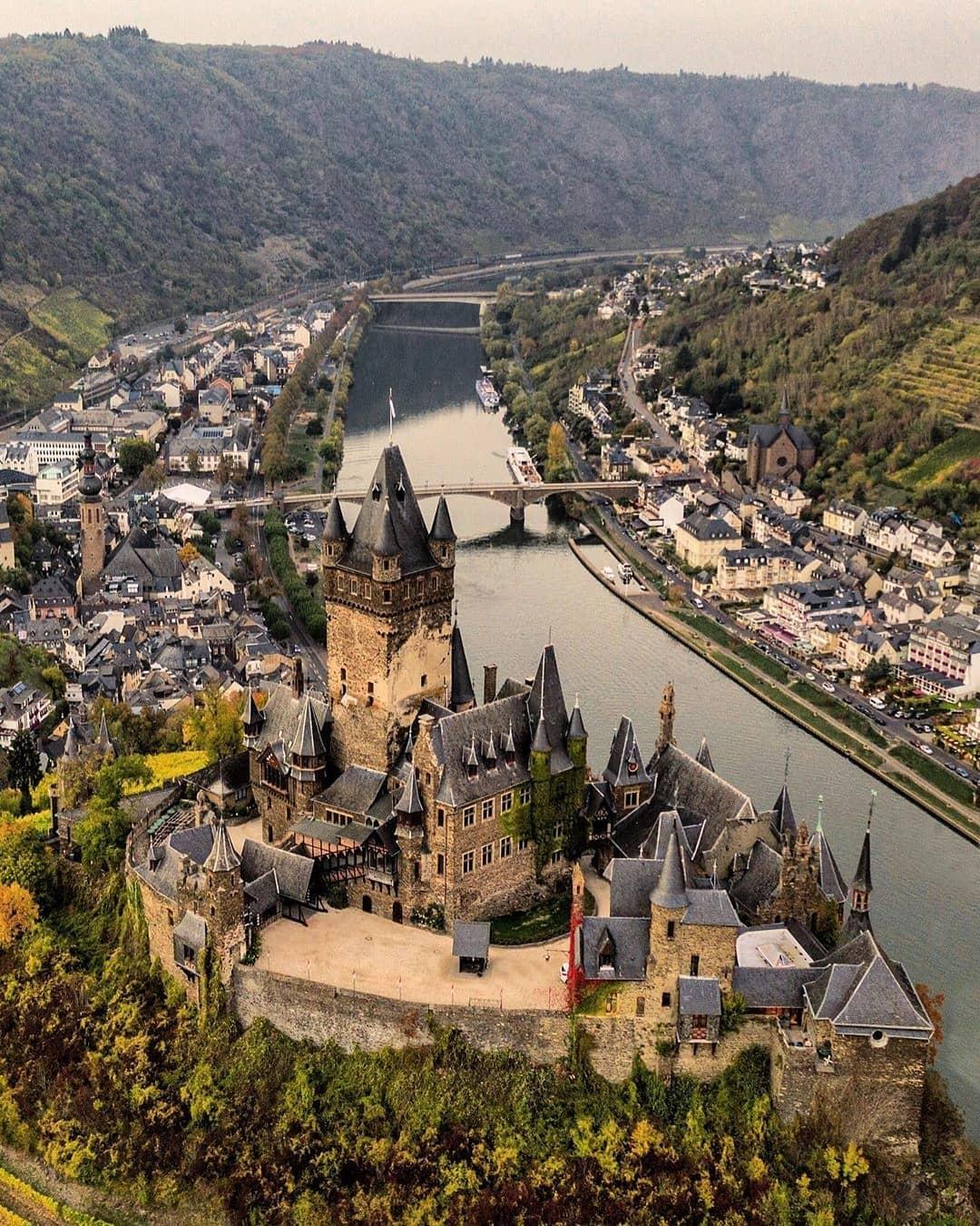 Thị trấn Cochem, Đức