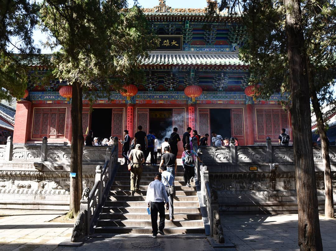 Thiếu Lâm Tự (Shaolin Temple), Núi Tung Sơn, Trung Quốc