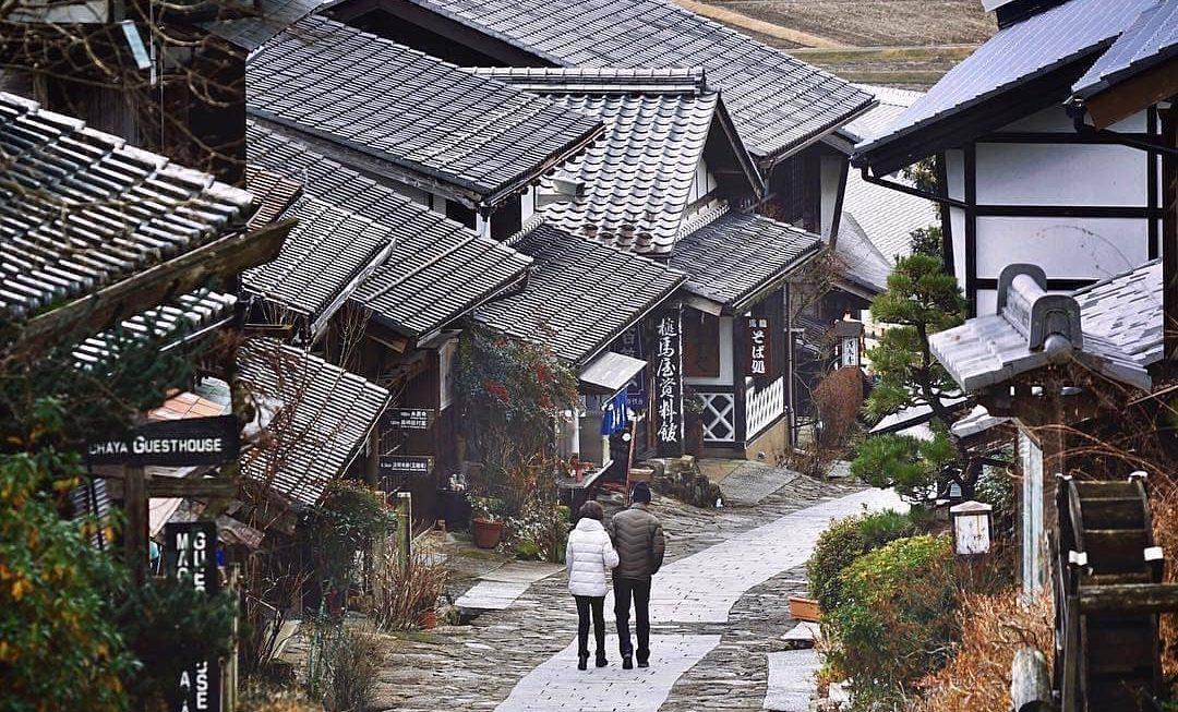 10 thị trấn đẹp nhất Nhật Bản