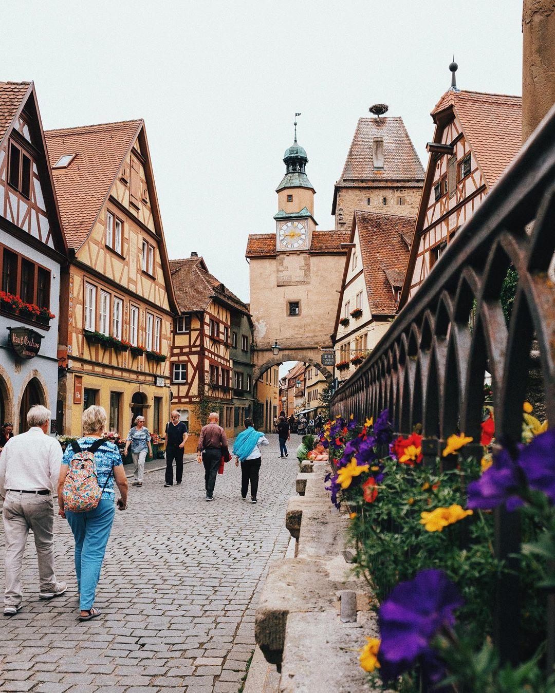 Rothenburg ob der taube, Đức
