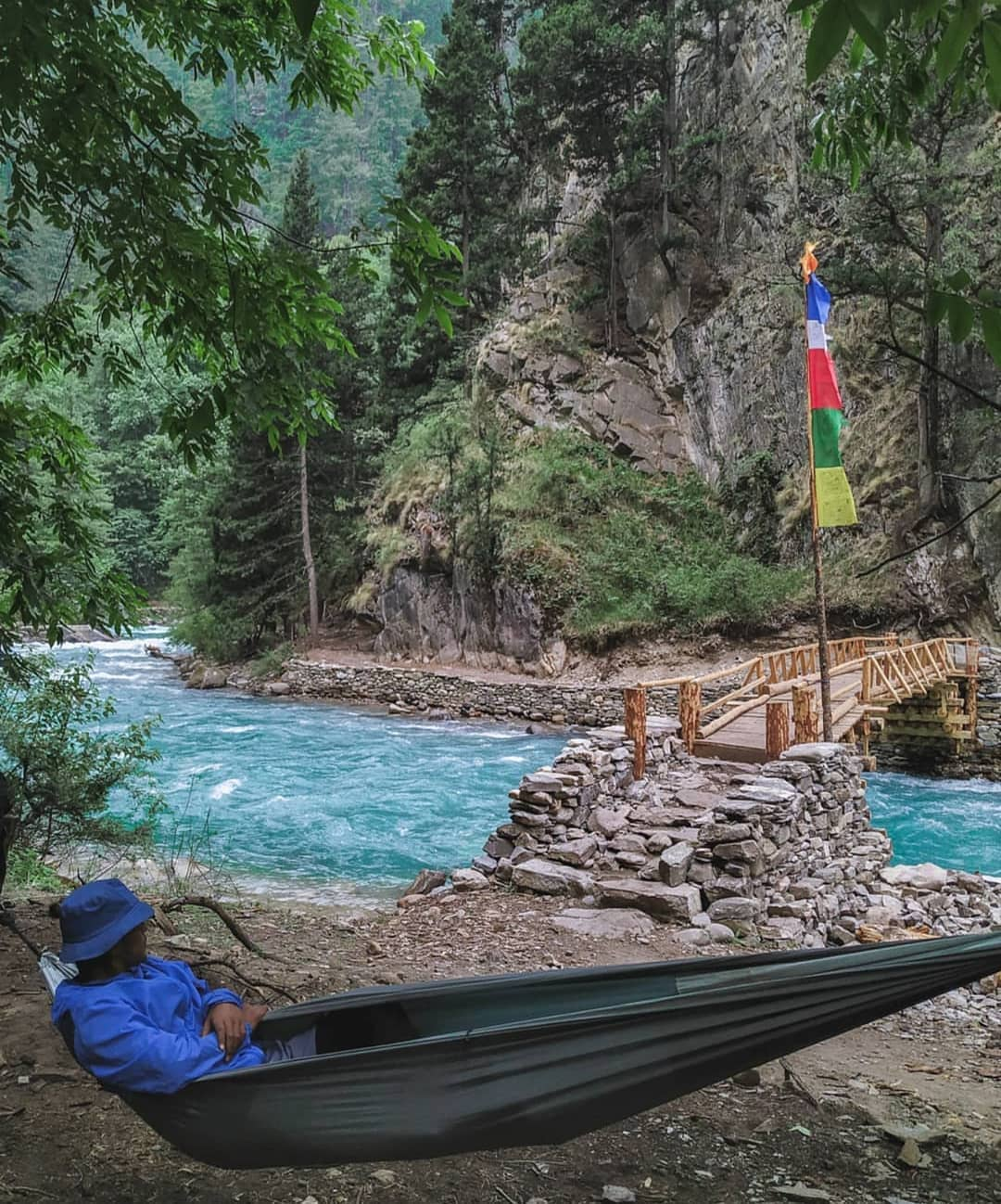 Thư giãn trên đường trekking đến Upper Dolpo, Nepal