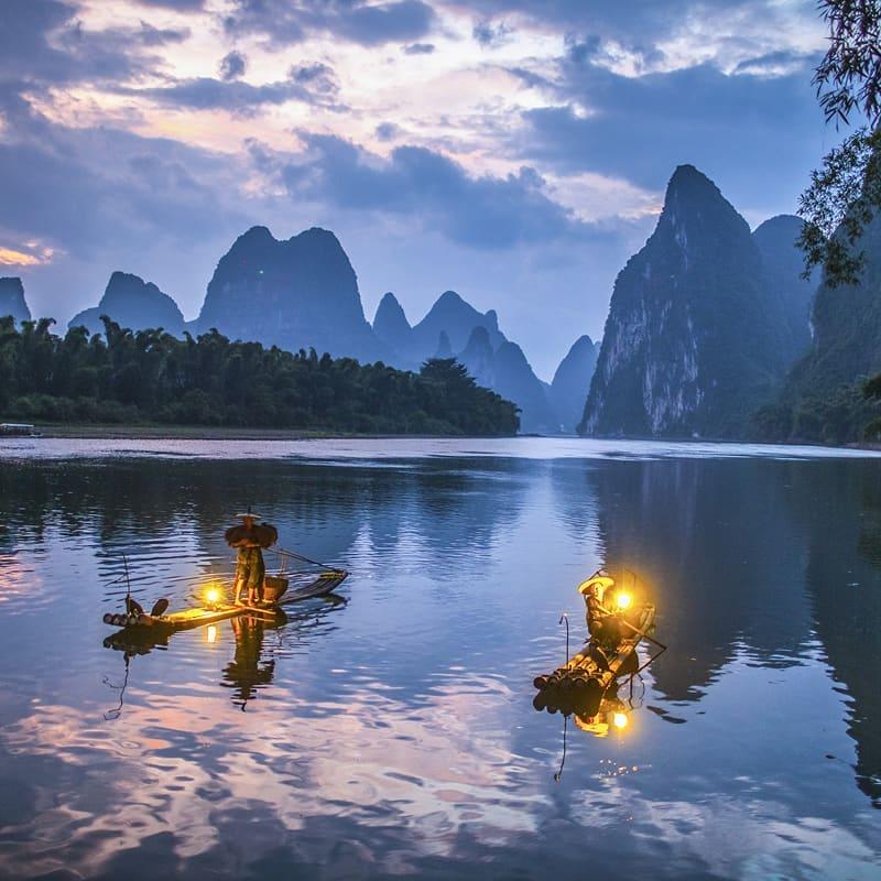 Sông Li, Quế Lâm, Phúc Kiến, Trung Quốc