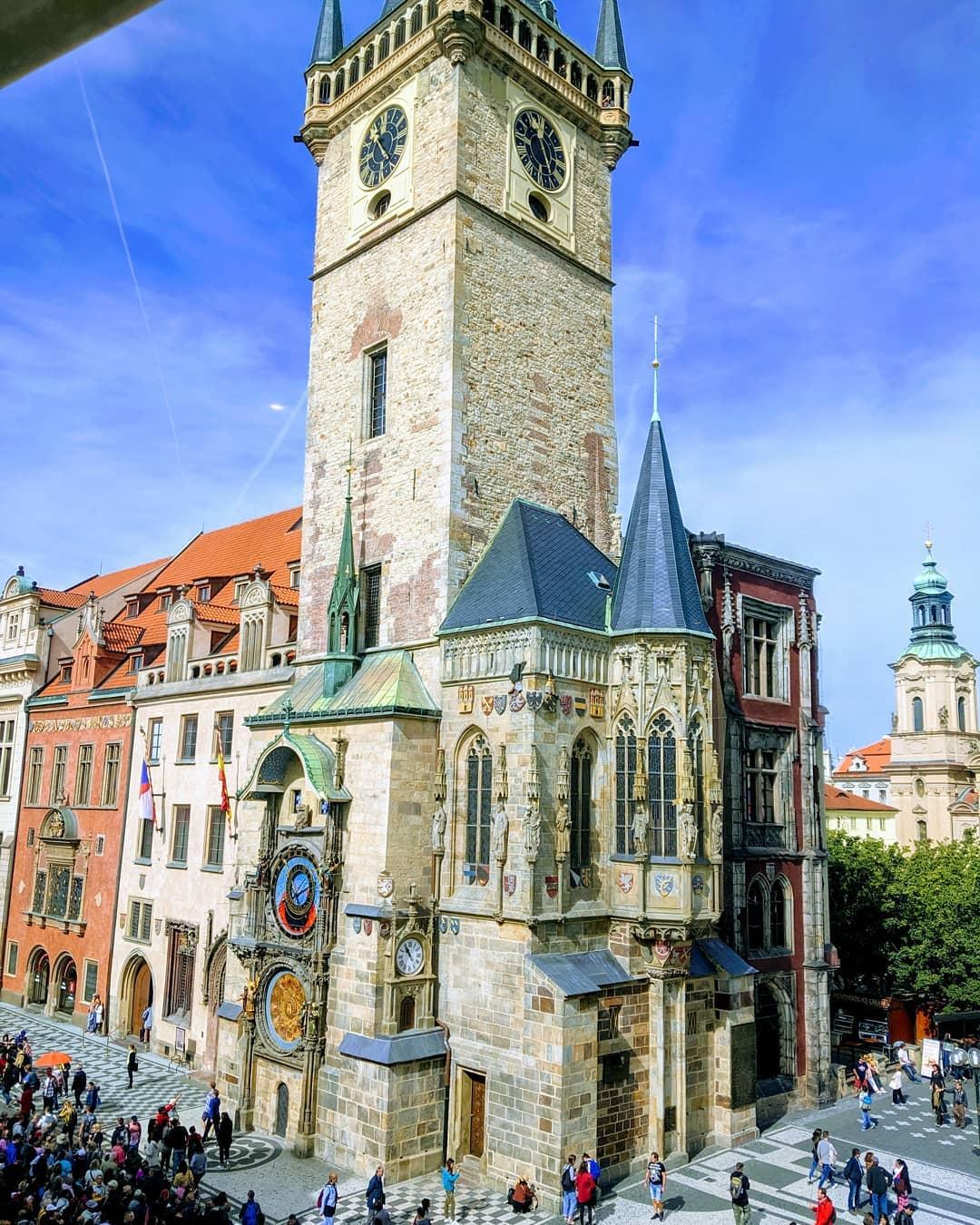 Astronomical Clock (Đồng hồ thiên văn), Prague, Cộng hoàn Czech