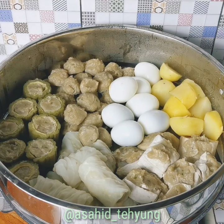Resep Siomay, Indonesia