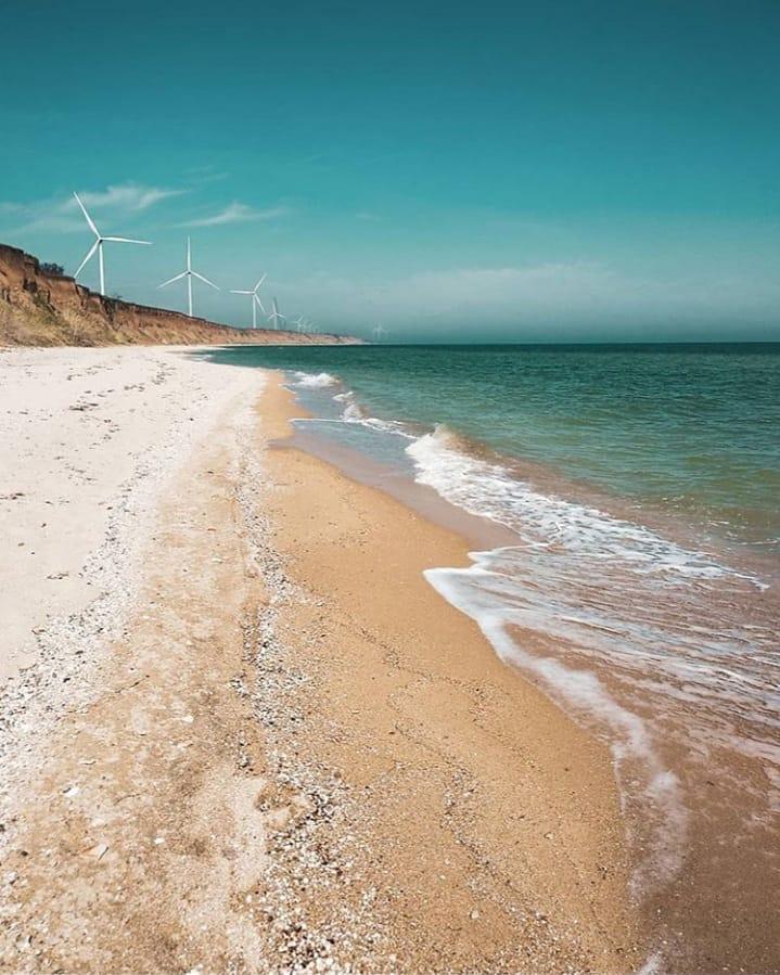 Bãi biển Azov, Primorsk, Nga