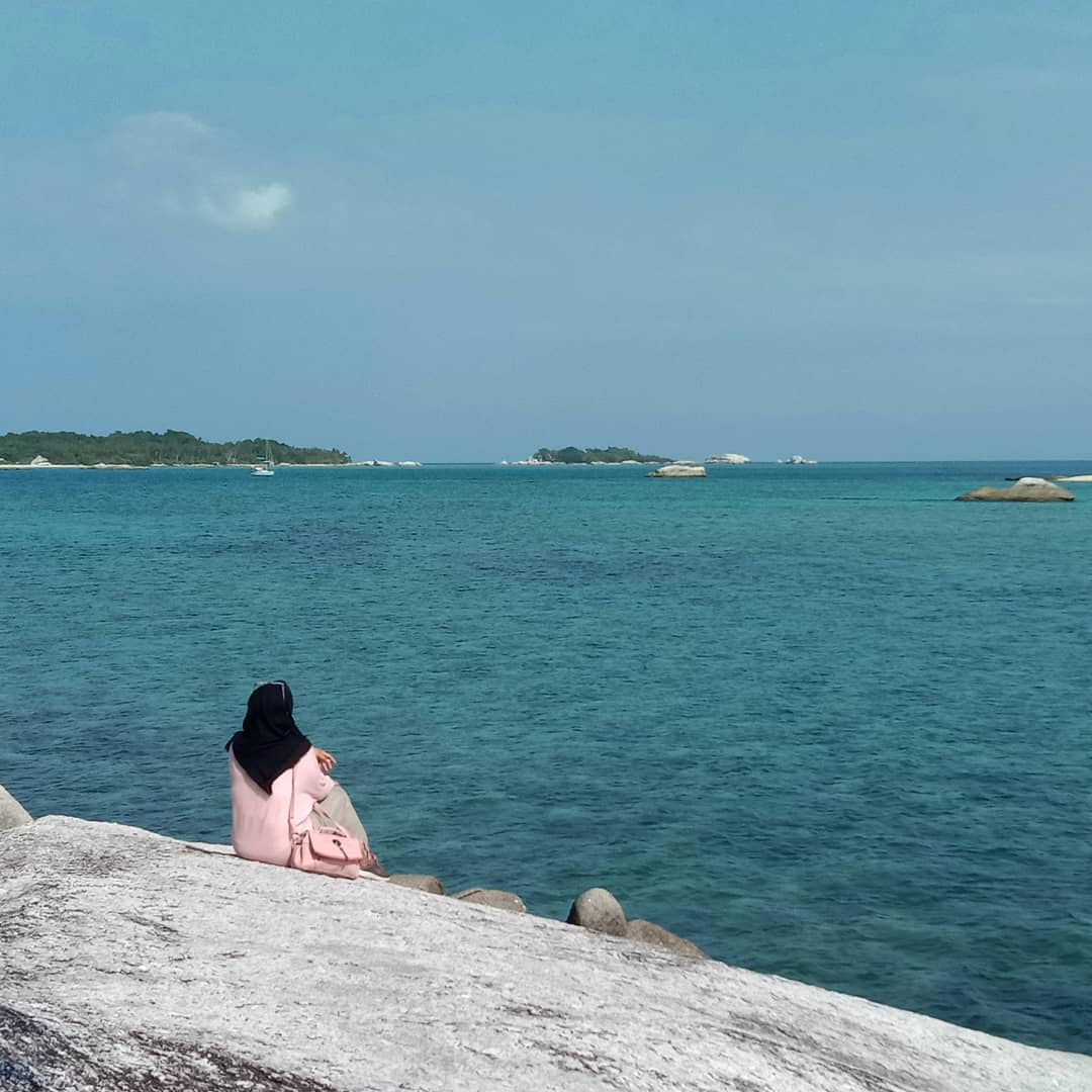 Bãi biển Tanjung Kelayang, quần đảo Belitung, Indonesia