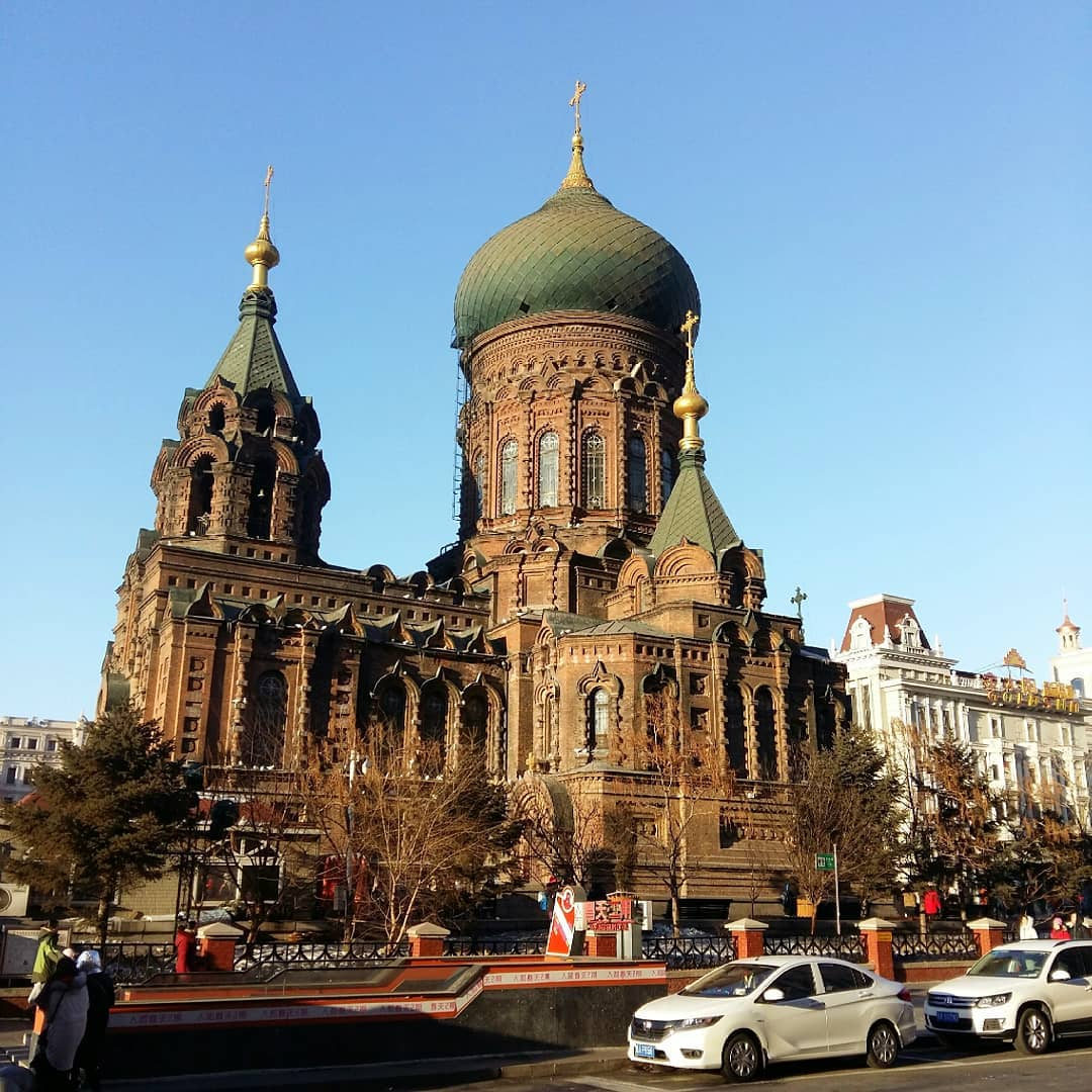 Nhà thờ Saint Sophia, Cáp Nhĩ Tân (Harbin), tỉnh Hắc Long Giang (Heilongjiang), Trung Quốc