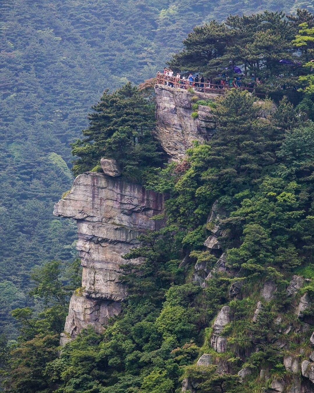 Núi Lư Sơn (Lushan),  Giang Tây, Trung Quốc