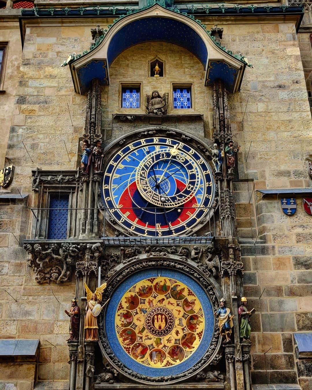 Đồng hồ thiên văn, Prague, Cộng hòa Czech