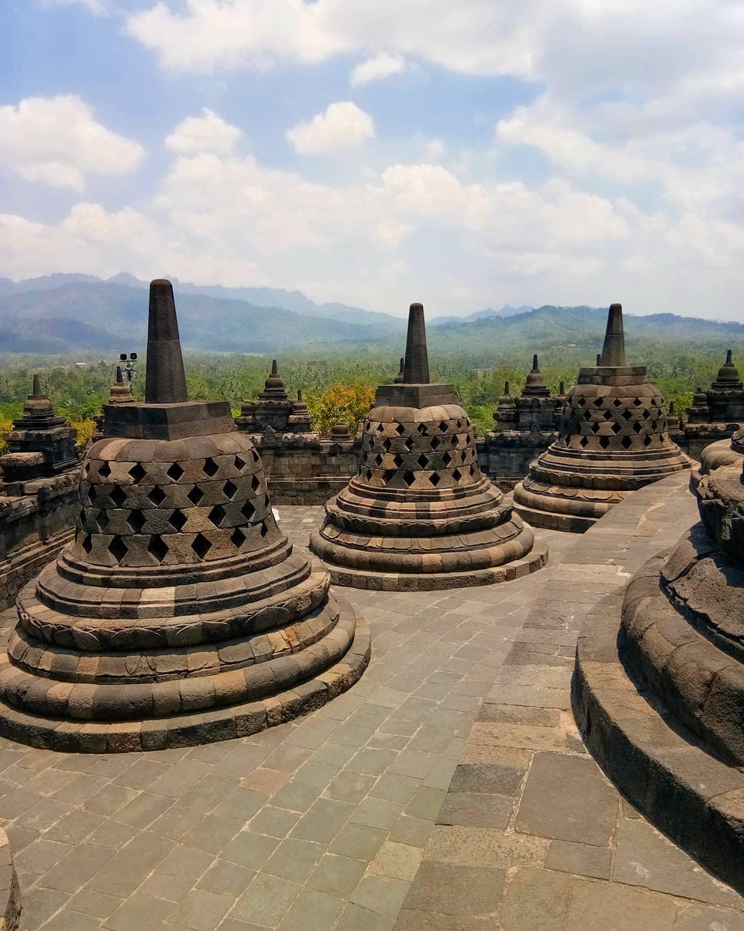 Đền Borobudur, Indonesia