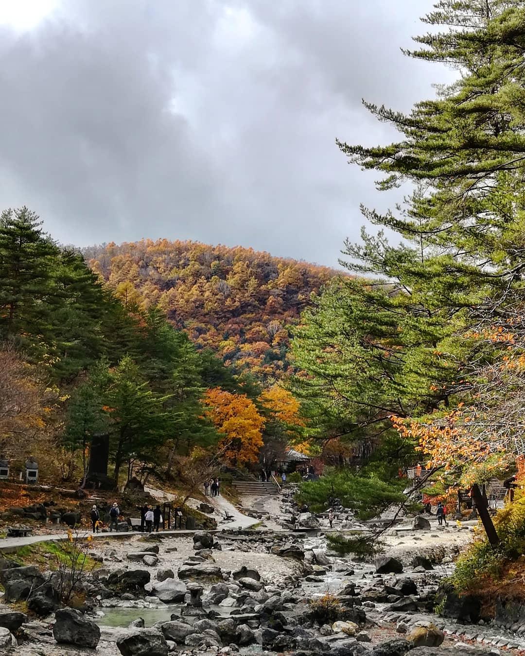 Kusatsu Onsen, tỉnh Gunma, Nhật Bản