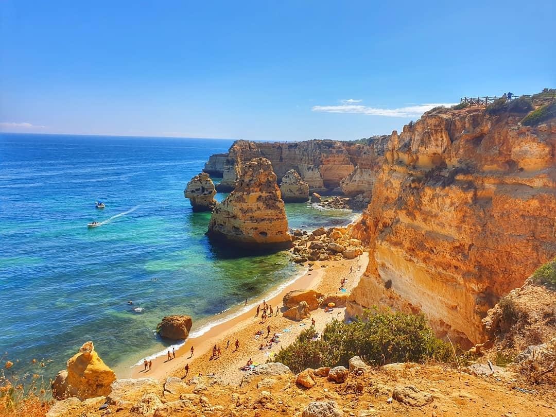 Praia da Marinha, Algarve, Bồ Đào Nha