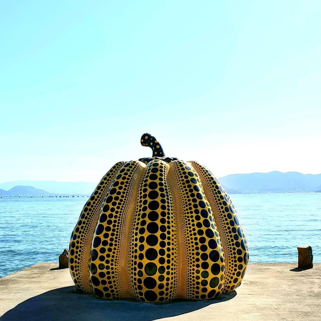 Đảo nghệ thuật Naoshima, tỉnh Kagawa, Nhật Bản