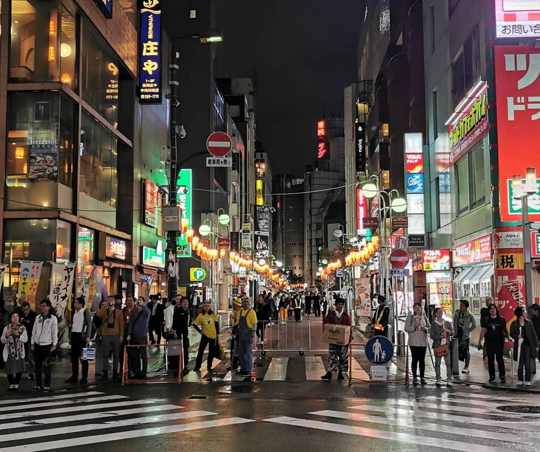 Khu phố Nakasu, quận Fukuoka, Nhật Bản