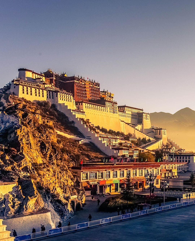 Cung điện Potala, Lhasa, khu tự trị Tây Tạng, Trung Quốc