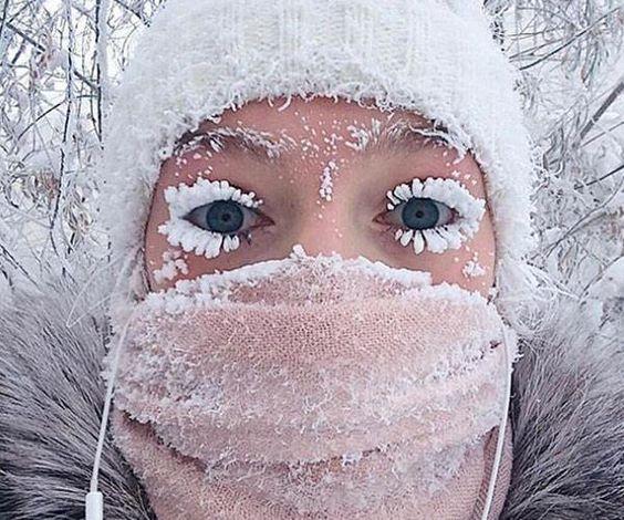 Thị trấn Oymyakon, Sakha, Nga