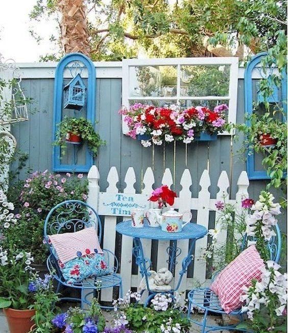 Các ý tưởng thiết kế khu vườn theo phong cách Rustic