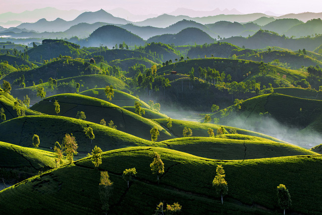 15 stunning photos show Vietnam country's fascinating beauty from above