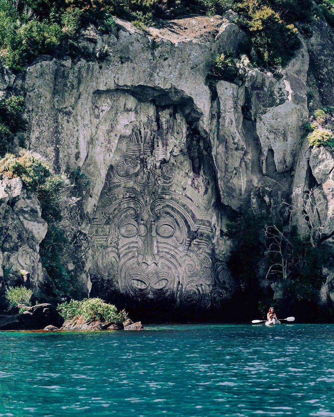 Hồ Taupo, New Zealand