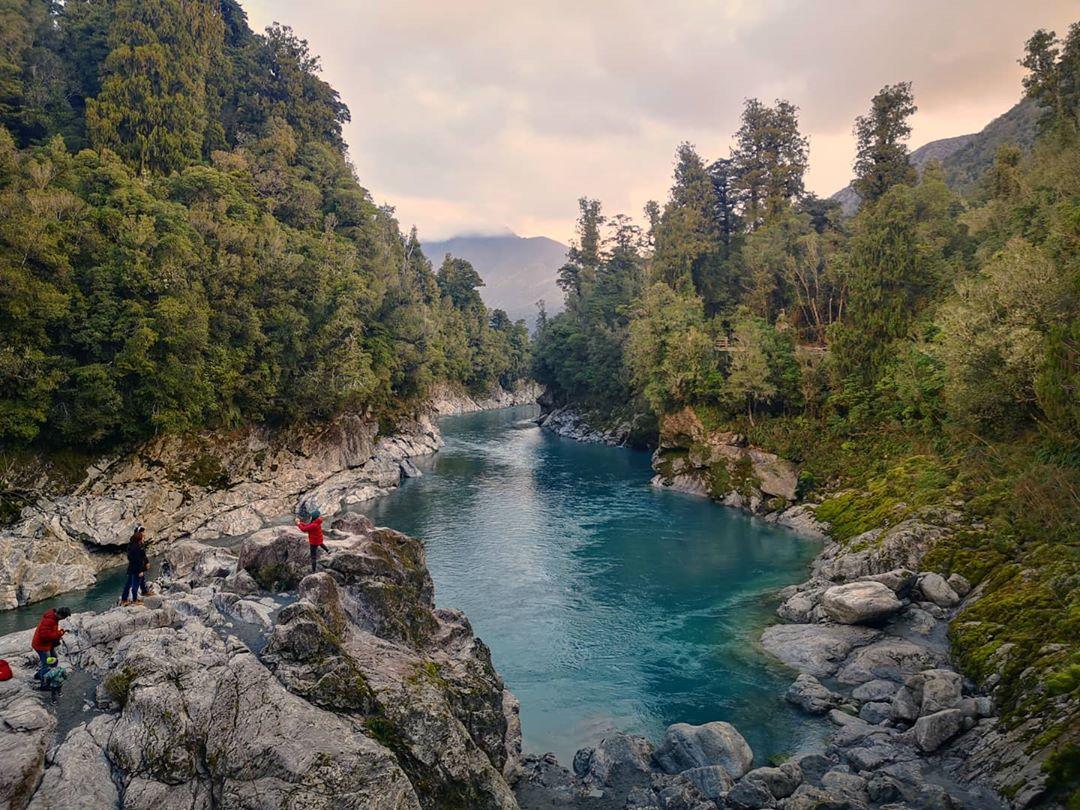 Hẻm núi Hokitika, New Zealand