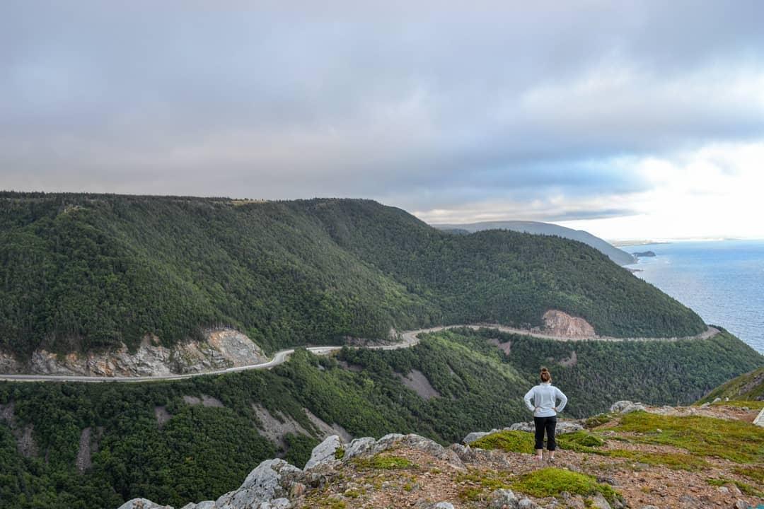 Đường mòn Cabot, Canada