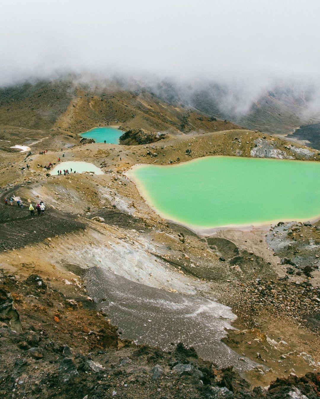 Công viên quốc gia Tongariro, New Zealand