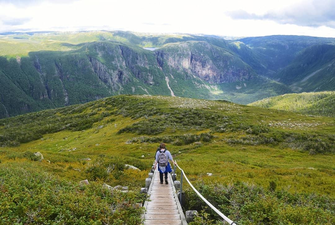 Núi Gros Morne, Canada