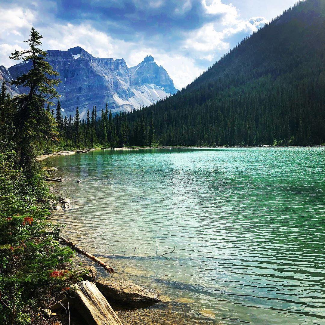 Hồ Sherbrooke, Công viên quốc gia Yoho, Canada
