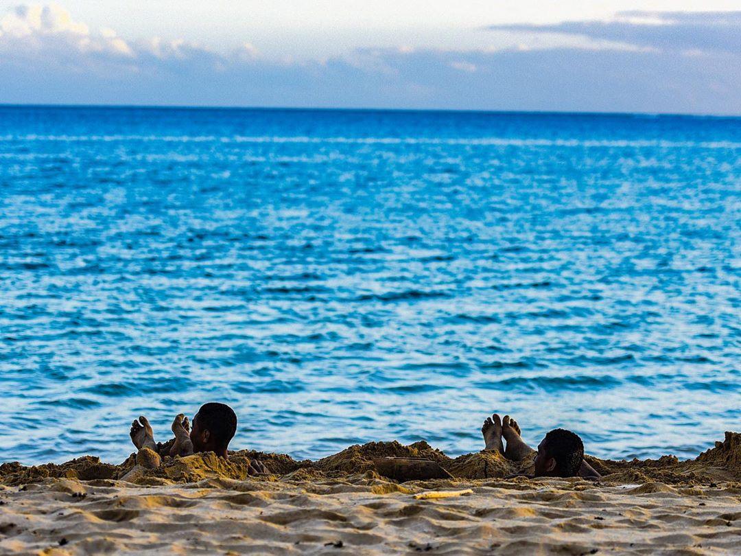 Bãi biển Natadola, quốc đảo Fiji